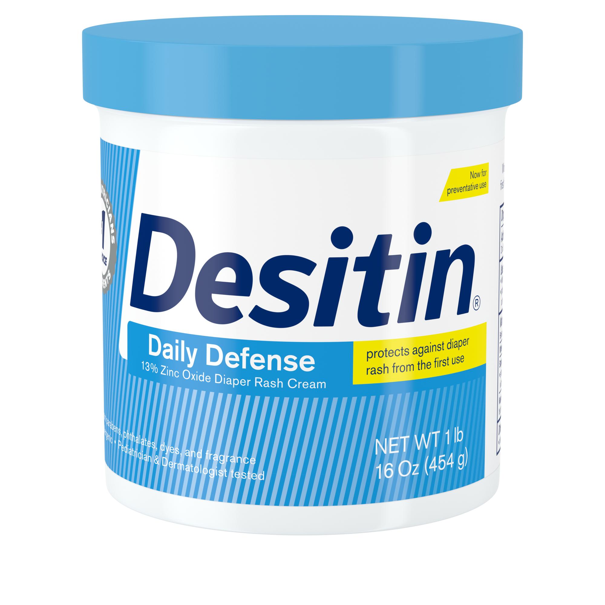 Zinc Oxide Diaper Rash Rapid Relief Cream Desitin