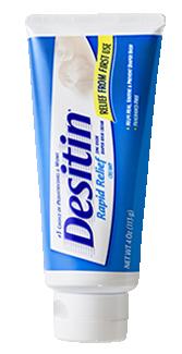 DESITIN® Rapid Relief Cream: Zinc Oxide Diaper Rash Cream