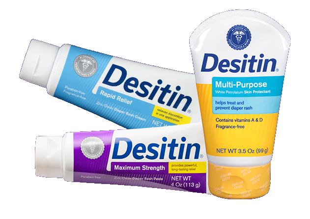 DESITIN Diaper Rash products