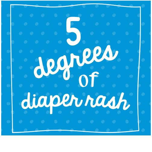 5 Degrees of Diaper Rash